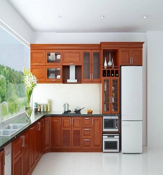 Mẫu tủ bếp đẹp tham khảo