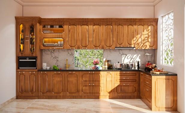 Các mẫu tủ bếp đẹp tham khảo