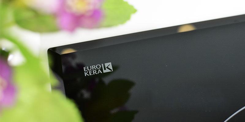 Ảnh mặt kính EuroKera xuất xứ Pháp