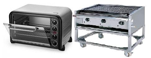 So sánh lò nướng điện và lò nướng gas