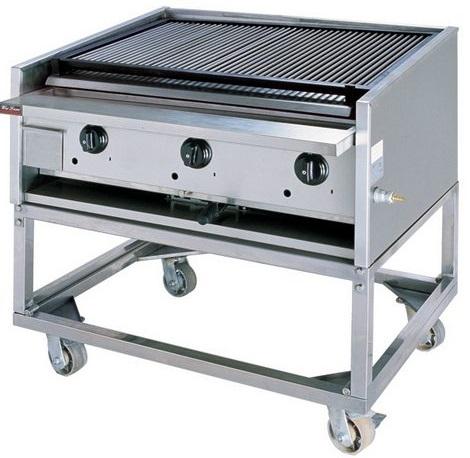 Lò nướng gas dễ làm cho thức ăn bị cháy khét