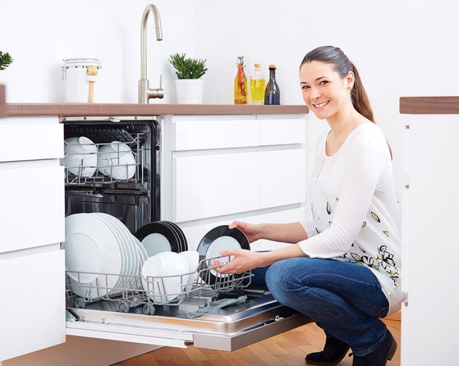 Bếp hoàng cương sẽ giúp bạn tự tin để có thể tự lắp đặt máy rửa bát