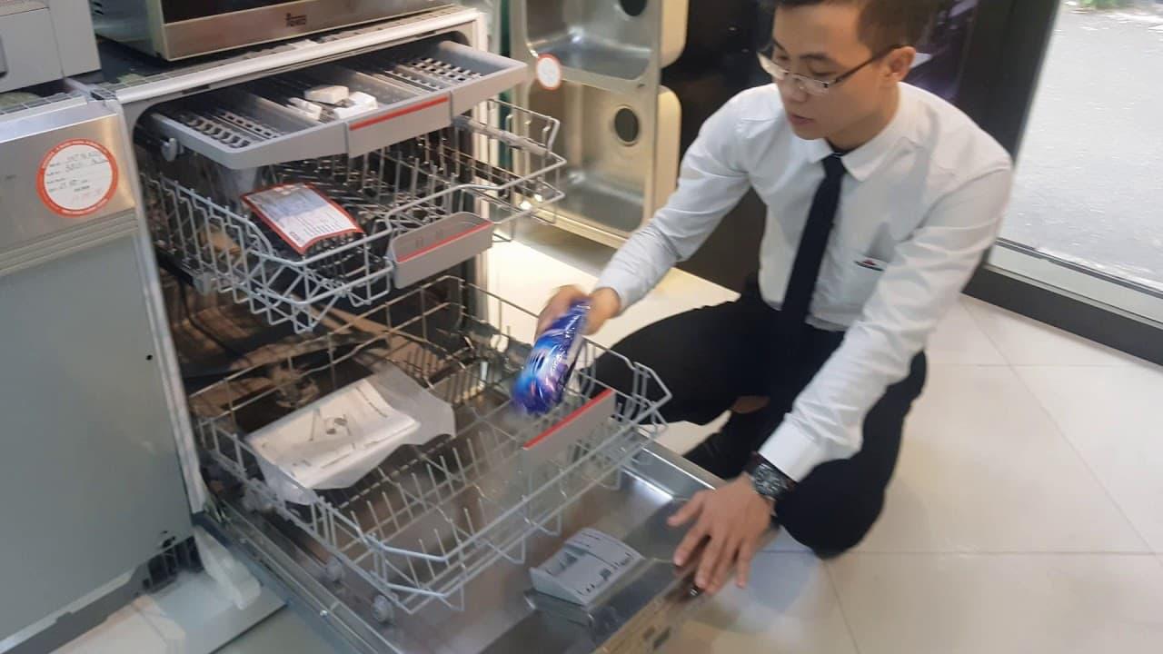 Nghiên cứu máy rửa bát
