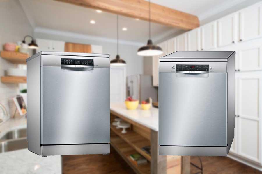 So sánh máy rửa bát Bosch SMS46MI05E và SMS68MI04E