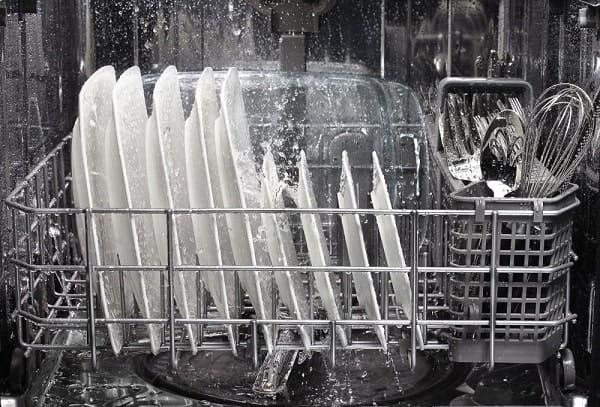 Hình ảnh bên trong máy rửa bát Bosch