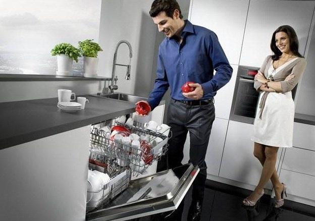 Máy rửa bát là trợ thủ đắc lực trong không gianbếp