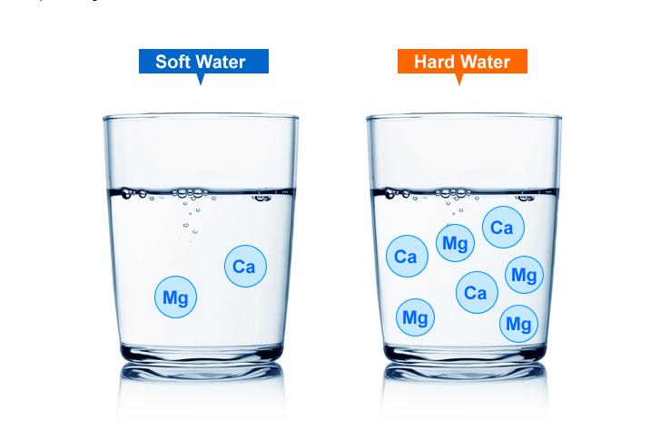 Nước cứng ảnh hướng đến máy rửa bát bởi tạp chất bên trong