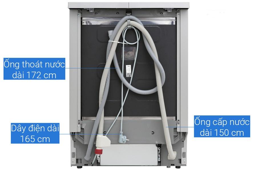 tắc ống thoát nước của máy rửa bát