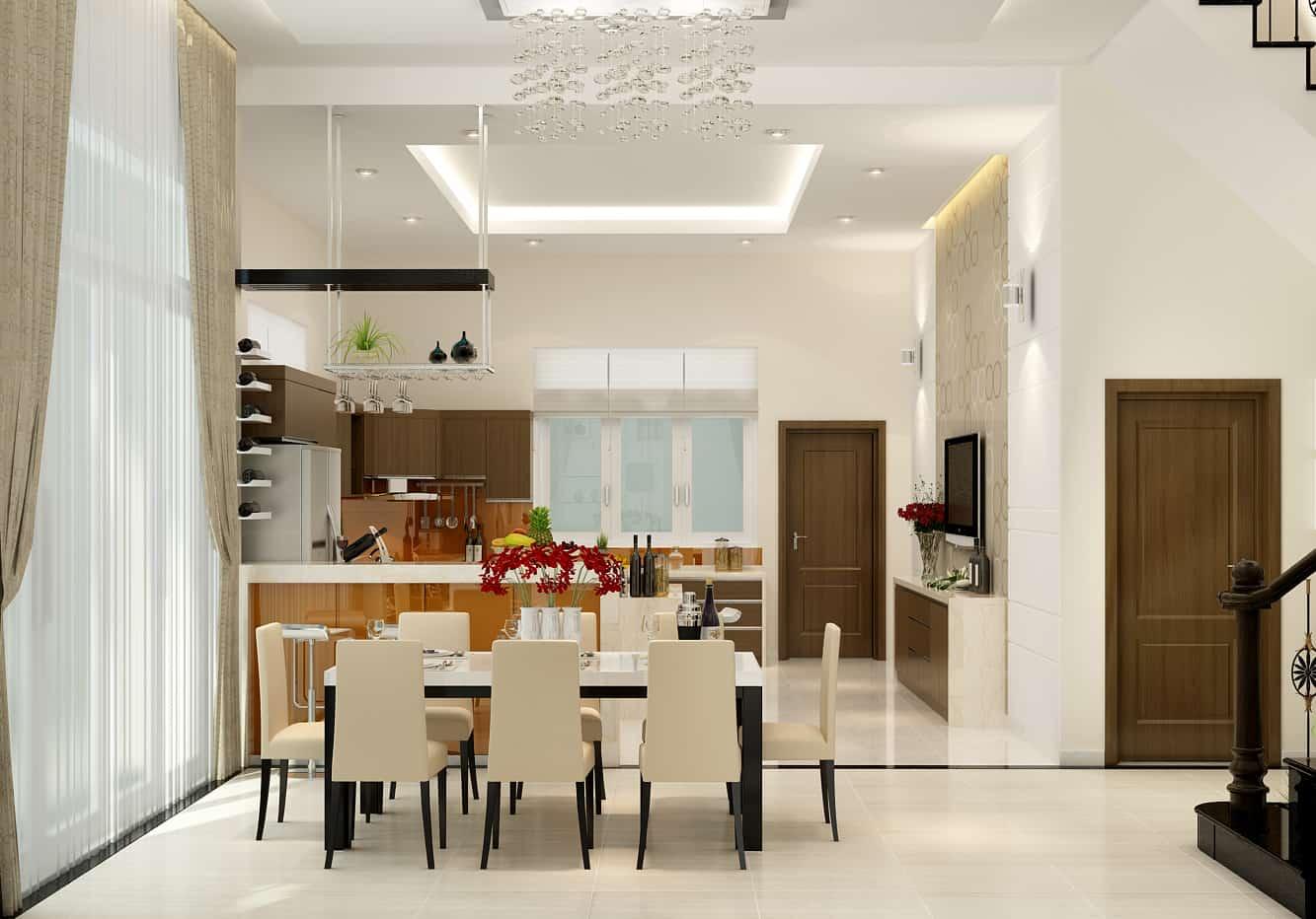 Cửa bếpkhông nên đối diện vớicửa phòngngủ