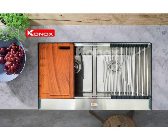 Chậu rửa chén bát Konox Apron Series KN8750DA