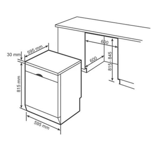 Tổng quan chi tiết của máy rửa bát BOSCH SMS50D32EU