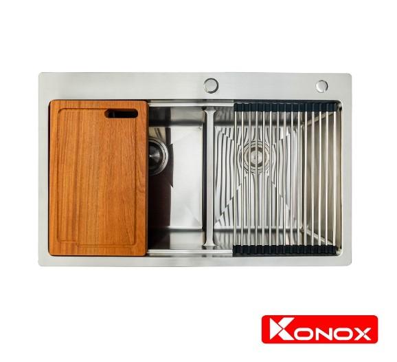Chậu rửa chén bát Konox Topmount Series KN8250TD