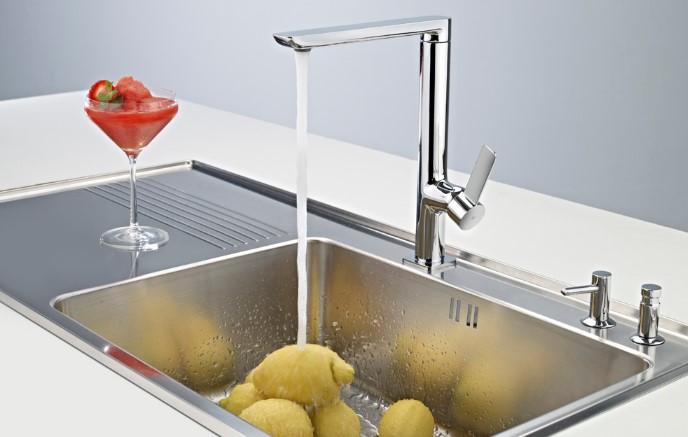 Vòi rửa chén bát Teka GRIFO FO 915 CROMO giúp căn bếp thêm sang trọng