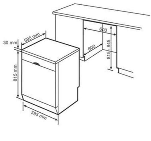 Thông số chi tiết về máy rửa chén Bosch SMS25DI05E
