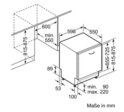Thông số chi tiết của máy rửa bát Bosch SMV69U50EU
