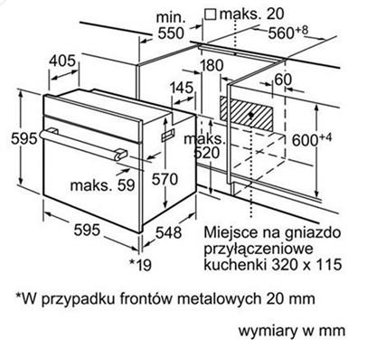 Thông số chi tiết cua lò nướng Bosch HBN231E2