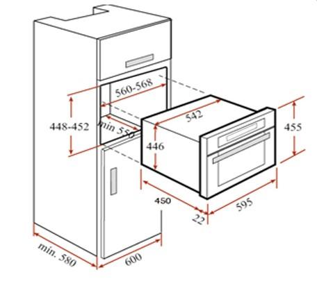 Thông số chi tiết của lò nướng Teka HKL 970 SC