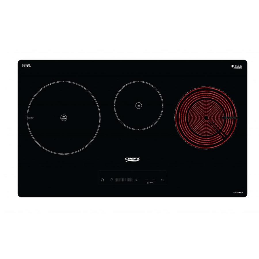 Bếp điện từ hỗn hợp Chefs EH-MIX534