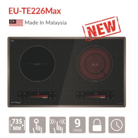 Bếp điện từ 2 vùng nấu Eurosun EU-TE226Max