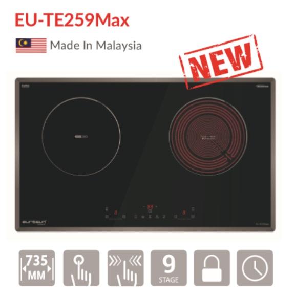 Bếp điện từ 2 vùng nấu Eurosun EU-TE259Max