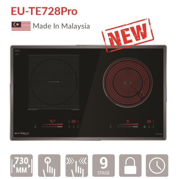 Bếp điện từ 2 vùng nấu Eurosun EU-TE728Pro
