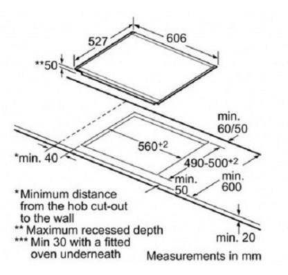 Thông số chi tiết của bếp từ Bosch PIN675N17E