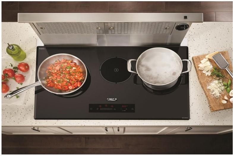Bếp từ CHEFS-EH-IH533 giúp không gian nhà bếp thêm hoàn hảo