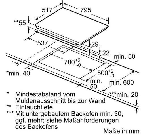 Bếp từ Bosch PXE845FC1E