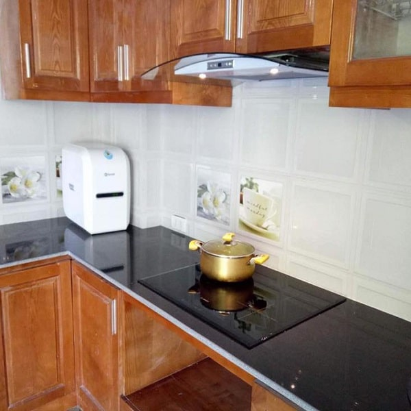 Ảnh bếp từ BOSCH PUC631BB2E đun nấu bằng nồi chuyên dụng