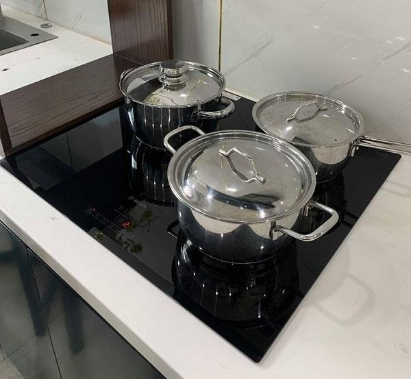 Nhận diện kích thước nồi của bếp Bosch PUJ631BB2E
