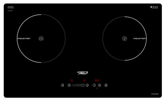 Hình ảnh bếp từ đôi CHEFS EH-DIH330 hiện đại