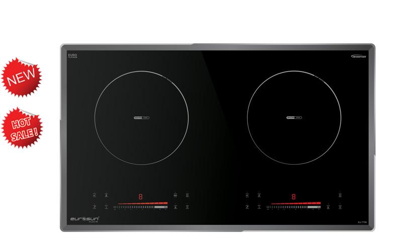 Bếp từ 2 vùng nấu Eurosun EU-T756