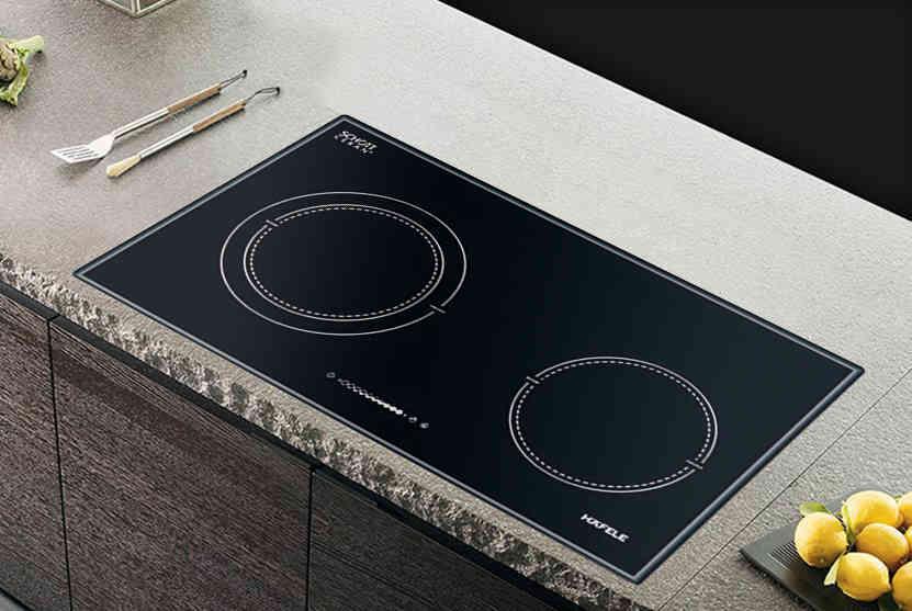 HC-I772A 536.01.695 có 2 vùng nấu sử dụng mâm nhiệt EGO