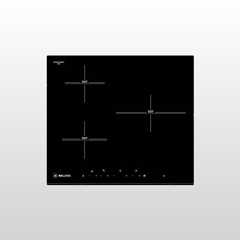 Bếp kính âm 3 từ Malloca MH-5903 I