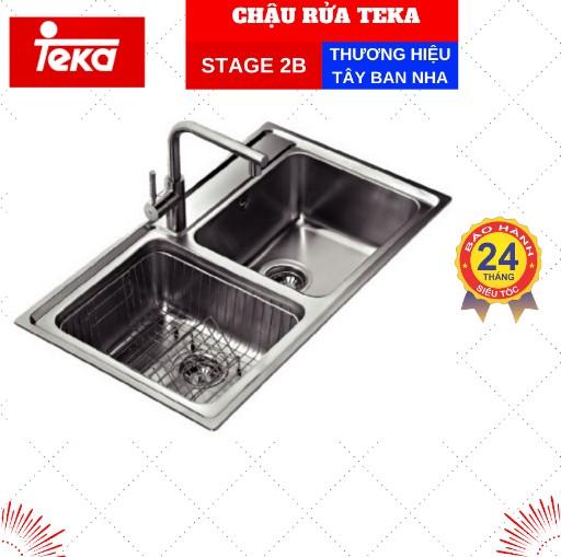 Chậu rửa TEKA STAGE 2B S STEEL