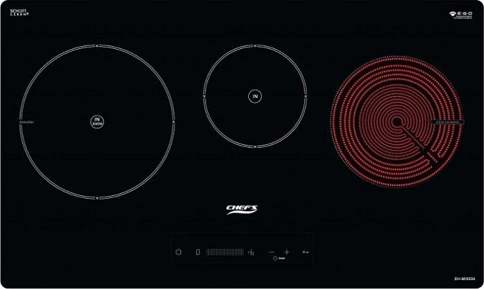 Combo bếp từ + hút mùi Chefs EH-CBX5340