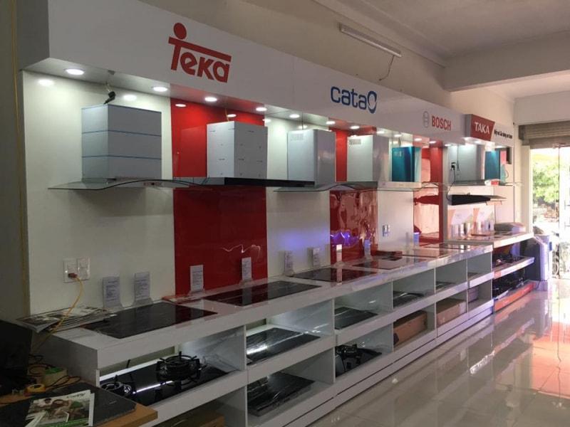Hệ thống showroom bếp Hoàng Cương