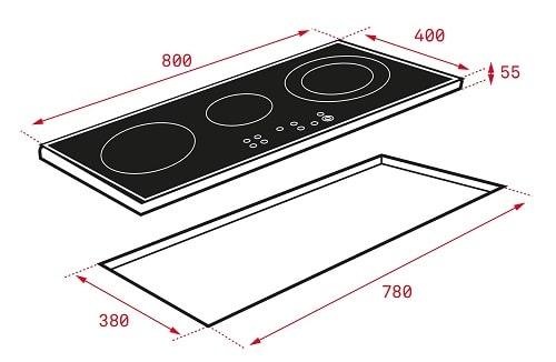 Bếp từ Teka IR 8300 HS0