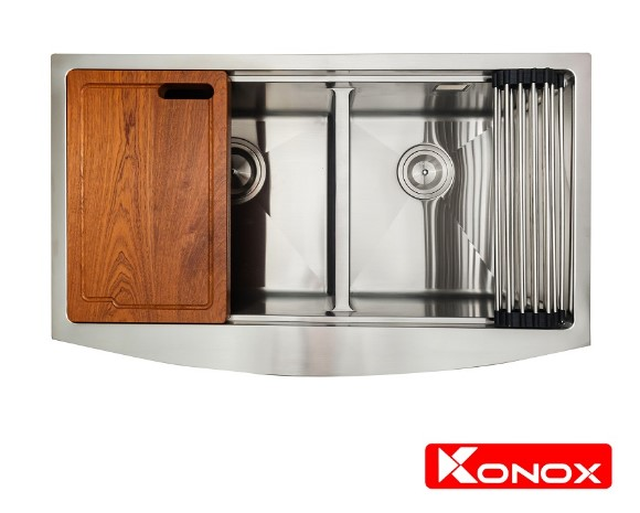 Chậu rửa chén bát Konox Apron Series KN8450DA