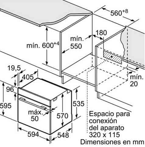 Lò nướng Bosch HBA5780B01
