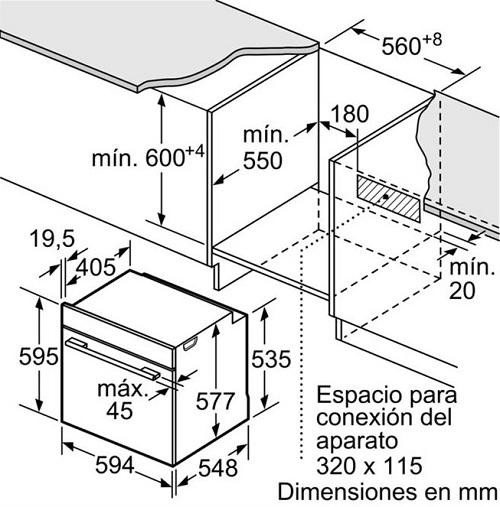 Lò nướng Bosch HSG636BS13