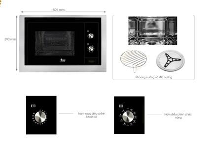 Các bộ phận chi tiết của lò vi sóngTEKA MWL 20 BI