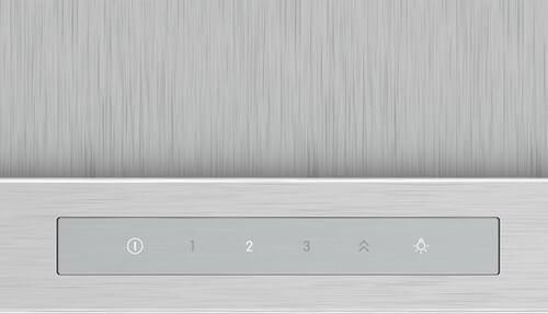 Hình ảnh bảng điều khiển máy hút mùi Bosch DWB77CM50