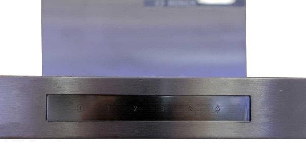 Ảnh bảng điều khiển của máy hút mùi Bosch DWB77CM50