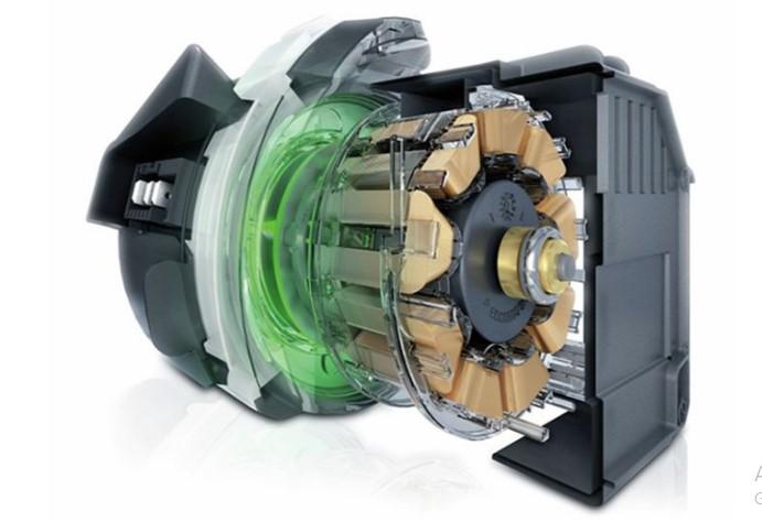 Sản phẩm sử dụng loại động cơ không chổi than tiên tiến và hiện đại