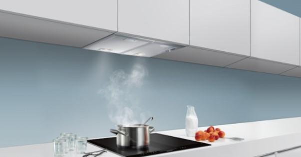 Máy đem đến không gian thoáng mát cho căn bếp
