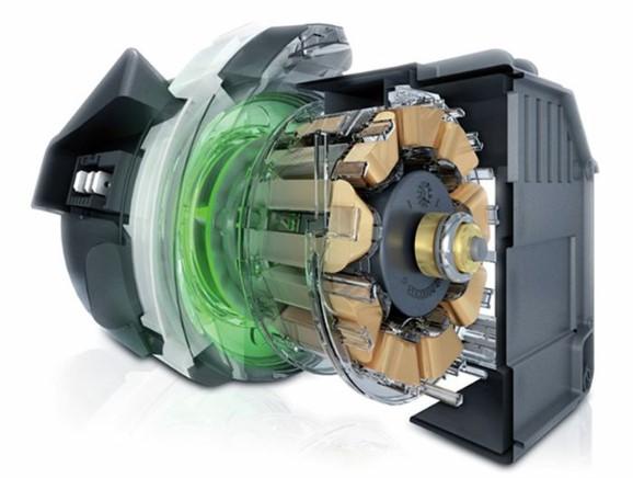 Máy sử dụng động cơ không chổi than hoạt động bền bỉ