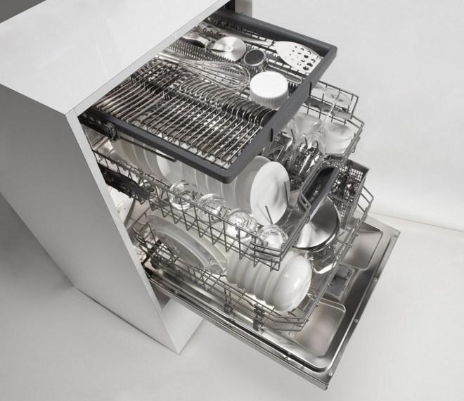 Giá để bát máy rửa bát Bosh 800 Series với nhiều tính năng hiện đại