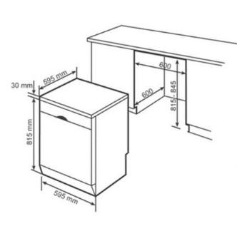 Thông số kỹ thuật của máy rửa chén bát Bosch SMS46GI04E