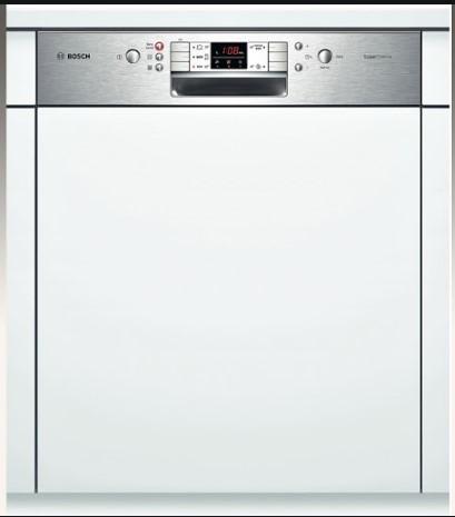Bảng điều khiển của máy rửa bát Bosch
